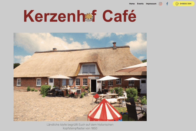 Kerzenhof website