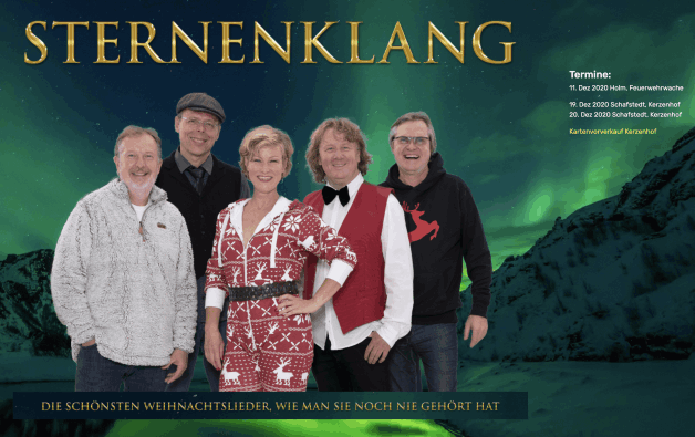 Sternenklang website